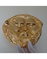 Златната маска на  тракийския цар Терес, реплика