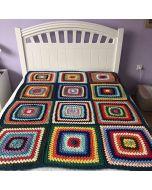 Многоцветно, ръчно плетено одеяло, Мечти