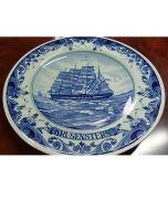 Колекционерска чиния Krusenstern, Blue Delft