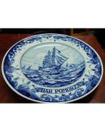 Колекционерска чиния Dar Pomorza, Blue Delft, серия Regina