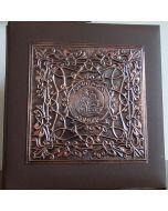 Албум за снимки, кована мед Александър Невски, с индивидуален надпис