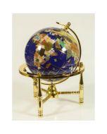 Имперски глобус с полускъпоценни камъни