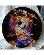 Рисувана порцеланова чиния, Шогун