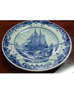 Колекционерска чиния Gladan, порцелан Blue Delft