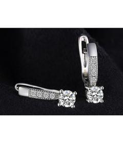 Сребърни обеци с диамант, Съвършенство