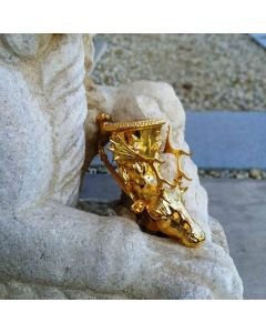 Реплика на ритон с глава на елен от Панагюрското съкровище