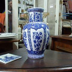 Антикварна ваза, порцелан Blue Delft