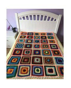 Плетено на една кука одеяло, Пролетно мечтание