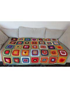 Ръчно плетено одеяло, Пролет