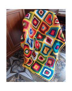 Ръчно плетено одеяло, Лято