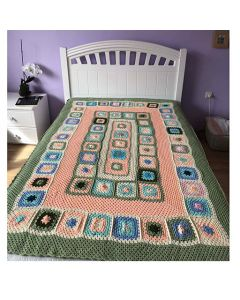 Ръчно плетено одеяло на една кука, Смирение