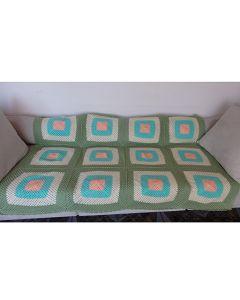 Плетено одеяло в млечни тонове, Нежност
