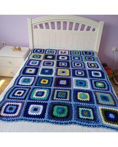 Плетено одеяло, Лазур
