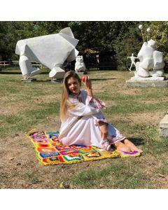 Плетено одеяло на една кука, Слънчево