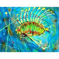 Картина, Голяма Лъвска Тропическа Риба