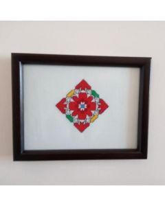Картина с българска шевица