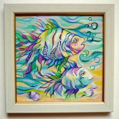 Рисувана керамика, Танцуващи риби