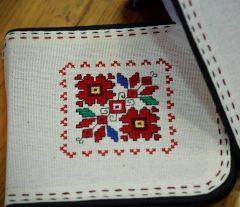 Калъф за СД с българска шевица