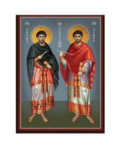 Икона на св. св. Козма и Дамян
