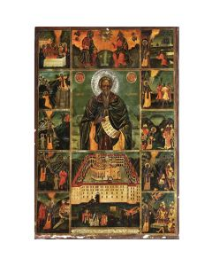 Икона на Св. Йоан Рилски 5, житие