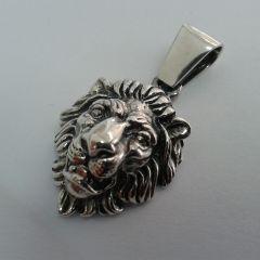 """Сребърна висулка """"Цар лъв"""""""