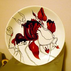 Рисувана чиния, Испания