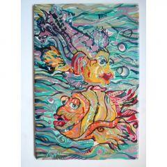 Влюбените риби, картина