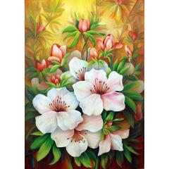 """Маслена картина """"Пролетен цвят"""""""