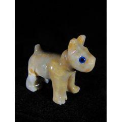 Куче, миниатюра от стеатит