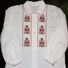 Бродирана блуза за момиче