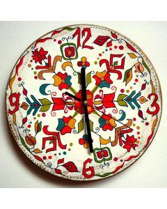 Стенен часовник, Поличба за плодородие и късмет