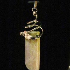 Луксозна висулка с турмалин - рубелит