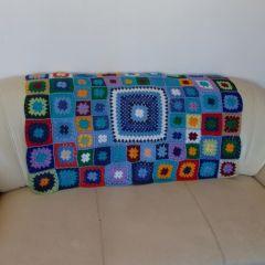 """Ръчно плетено одеяло """"Александър"""""""