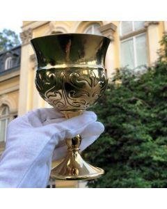 Ритуален бокал на Кан Кубрат, позлатена реплика
