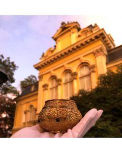 Реплика на златната чаша с камъни на хан Аспарух