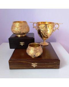 Златни антични царски бокали