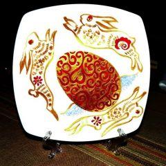 Рисувана керамика, Великден