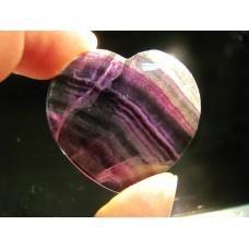 Сърце от Флуорит