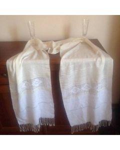 Ръчно тъкан памучен шал, Нежност