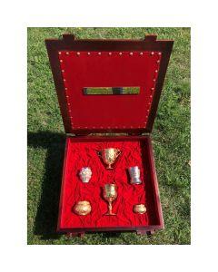 Специална царска колекция на бокалите на тракийските и българските царе
