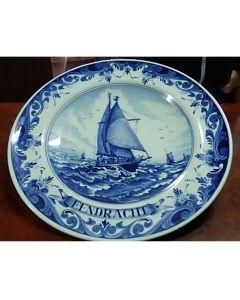 Колекционерска чиния Еendracht, Blue Delft, серия Regina