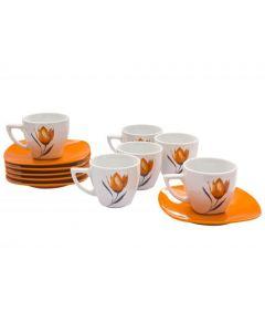Сервиз за кафе, Оранжеви лалета