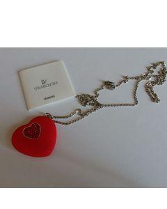 Флашка, медальон във формата на сърце, Сваровски