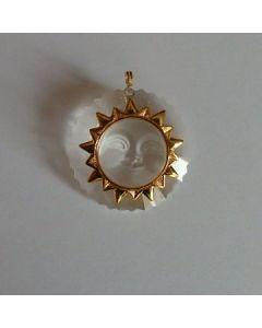 Колие слънце, кристална ВИП колекция, Сваровски