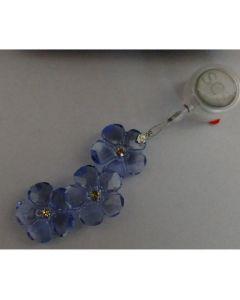 Колекционерска кристална висулка, Сини цветя, ВИП колекцията на Сваровски