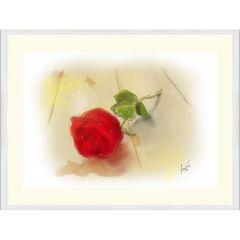 Роза, дигитална графика