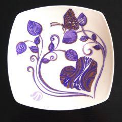 Керамична чиния, Виолетово сърце