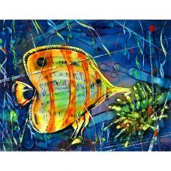 "Картина ""Тропическа Риба Диск"""