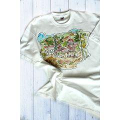 България, ръчно рисувана тениска