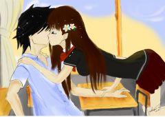 Картина, Влюбени - Момче и момиче